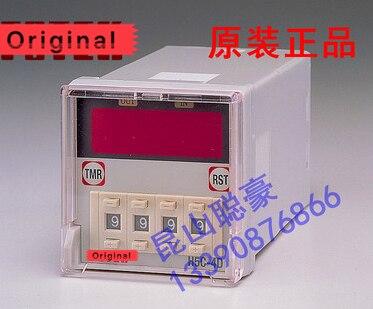H5C 4D счетчик 90 250VAC 4 цифры предустановленный счетчик с базой Новый и оригинальный