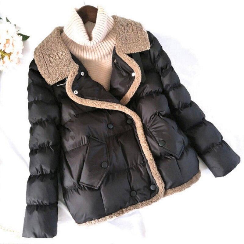 Women Winter Warm Coat Fashion Cotton Padded Jacket   Parkas