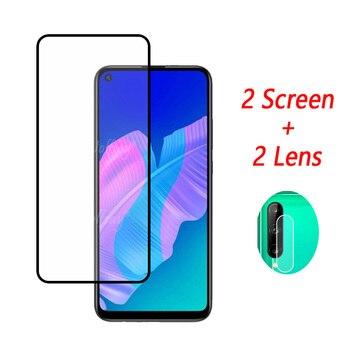 Перейти на Алиэкспресс и купить Закаленное стекло с полным клеем для Huawei P40 Lite E Защита экрана для Huawei P40 Lite E стекло для камеры Huawei P40 Lite E стекло 6,39дюйм
