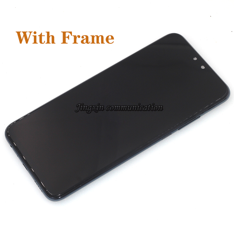 Image 5 - Original display with frame For Huawei Y9 2019 LCD touch screen digitizer assembly for Y9 2019 JKM LX1 LX2 LX3 lcd repair parts-in Mobile Phone LCD Screens from Cellphones & Telecommunications