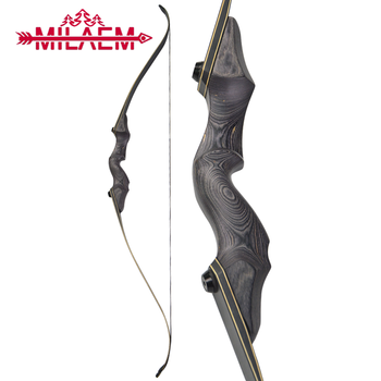 60inch 30/35/40/45/50/55/60lbs Archery Recurve Bow Right /Left Hand Lamination Bow Limbs Outdoor Sports Hunting Accessories