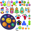 Fidget Simple Dimple Toy Fat Brain Toys Stress Relief Hand Fidget Toys For Kids Adults Early Educational Autism Special Need Toy