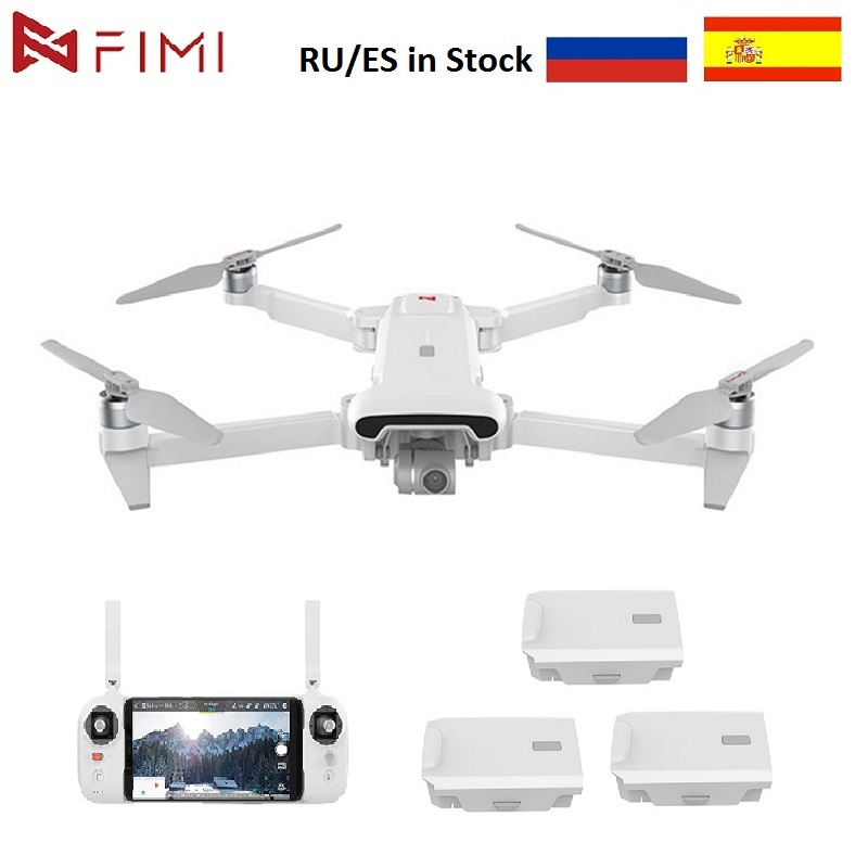 FIMI X8SE 2020 Camera Drone RC Helicopter 8KM FPV 3-Axis Gimbal 4K Camera GPS Drone Quadcopter RTF Battery 35mins Flight Time