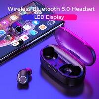 doboss Original True wireless Stereo Earbuds Bluetooth V5.0 Erphone Wireless With Microphone For iPhone Samsung Huawei Xiaomi
