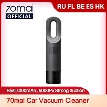 70mai Auto Staubsauger 70MAI Auto Reiniger 4000mah Batterie 70mai Handheld Reiniger Auto und Home Drahtlose Reiniger Licht Gewicht