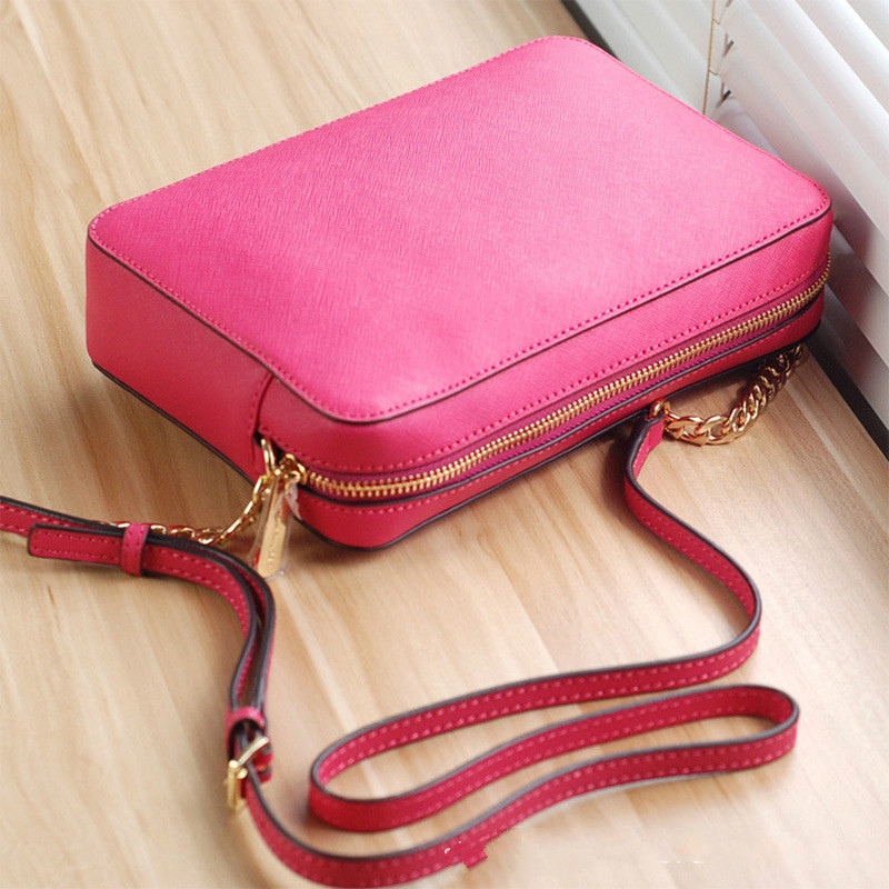 Designer High Quality PU Zip Shoulder Bag Mini Chain Flap Crossbody Bag Handbag For Women &Girls Fashion Low Maintenance