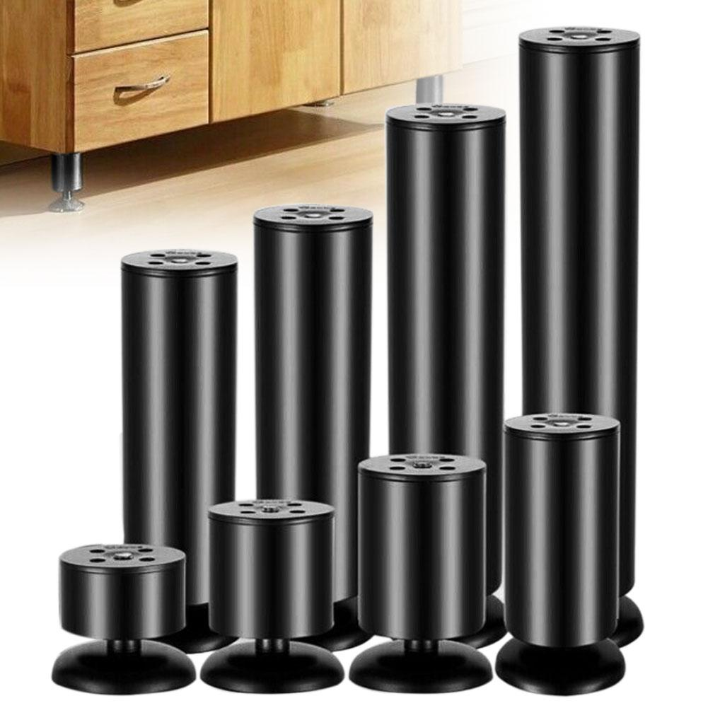 Durable Stainless Steel Furniture Leg Adjustable Sofa Cabinet Foot Support Mat Coffee Table Legs Support Legs Furniture Feet