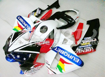 4 Gifts New ABS Injection Motorcycle Whole Fairings Kit Fit For Honda CBR 600RR F5 05 06 2005 2006 body set EUROBET