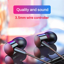 Earphone Support IOS Android Microsoft Multi-system In-ear Comfortable 3.5mm Gold Plated Plug Voice