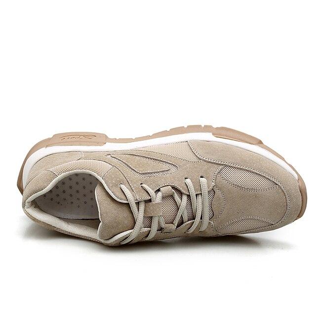 Hommes baskets en cuir véritable hommes chaussures dété marque chaussures antidérapant semelle épaisse chaussures de loisir à la mode mâle concepteur Walker peak
