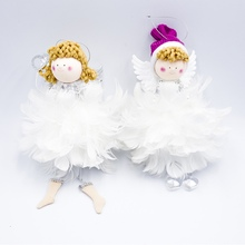 Christmas Tree Decoration Angel Doll Ornament Desktop Pendant Hanging Ornaments