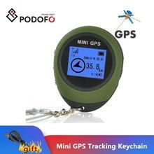 Podofo Mini dispositif de suivi GPS, porte clés Portable de voyage, localisateur de moto, localisation de véhicule de Sport