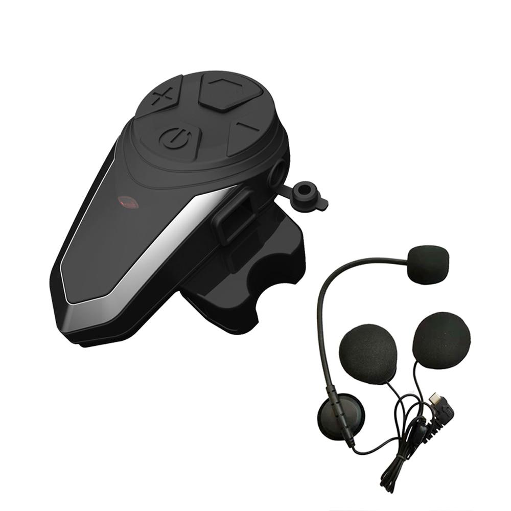 Image 2 - BT S3 1200M Motorcycle Bluetooth Helmet Headsets Intercom for  Riders Wireless Intercomunicador Interphone MP3 FMHelmet Headsets   -