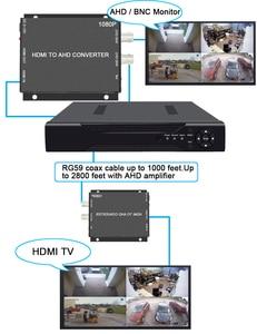 Image 5 - BNC וידאו ממיר וידאו מעקב וידאו מקליט וידאו מקליט HDMI כדי AHD ממיר עבור מצלמה CCTV Tester ממיר