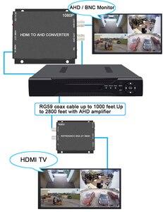 Image 5 - BNC Video Converter Video surveillance video recorder video recorder HDMI to AHD Converter For Camera CCTV Tester Converter