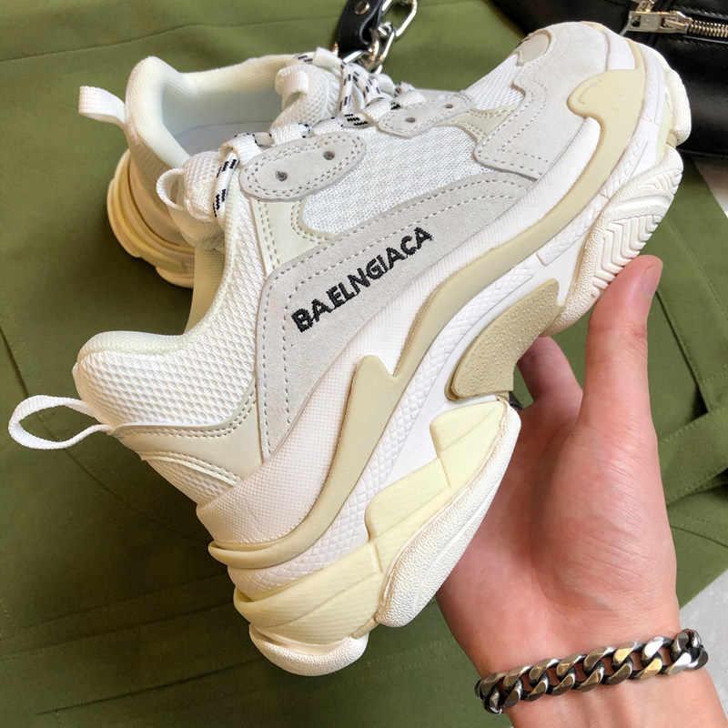 Prova Tempat Yang Hebat 2020 Sneakers Wanita Sepatu Bernapas Berjalan Sepatu Kasual Ukuran Besar Mencintai Sepatu Zapatillas Mujer