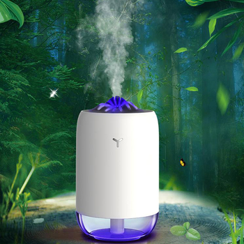 USB Air Humidifier with colorful LED Light Home Car Mini Ultrasonic Cool Mist Water Diffuser Humidificador Mist Maker Fogger tomnew 3 in 1 mini cool mist humidifier 200ml auto shut off portable air diffuser with usb fan and led light for home office car