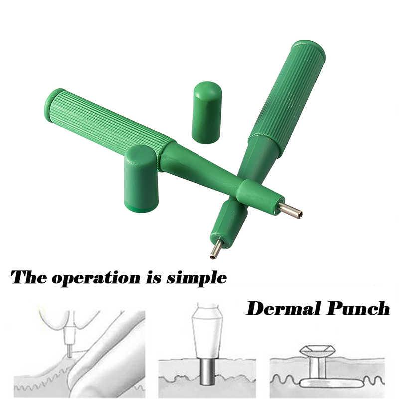 1 Máy Tính Dùng Một Lần Chuyên Nghiệp Sinh Thiết Mặt Nạ Dermal Puncher Cho Bấm Lỗ Dây Da Cơ Thể Trang Sức Dụng Cụ Dễ Dàng Sử Dụng Tiệt Trùng Mặt Nạ Dermal Mỏ Neo Đục Lỗ