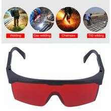 Protection Goggles Laser Safety Glasses Green Blue Red Eye Spectacles Protective Eyewear Red Color