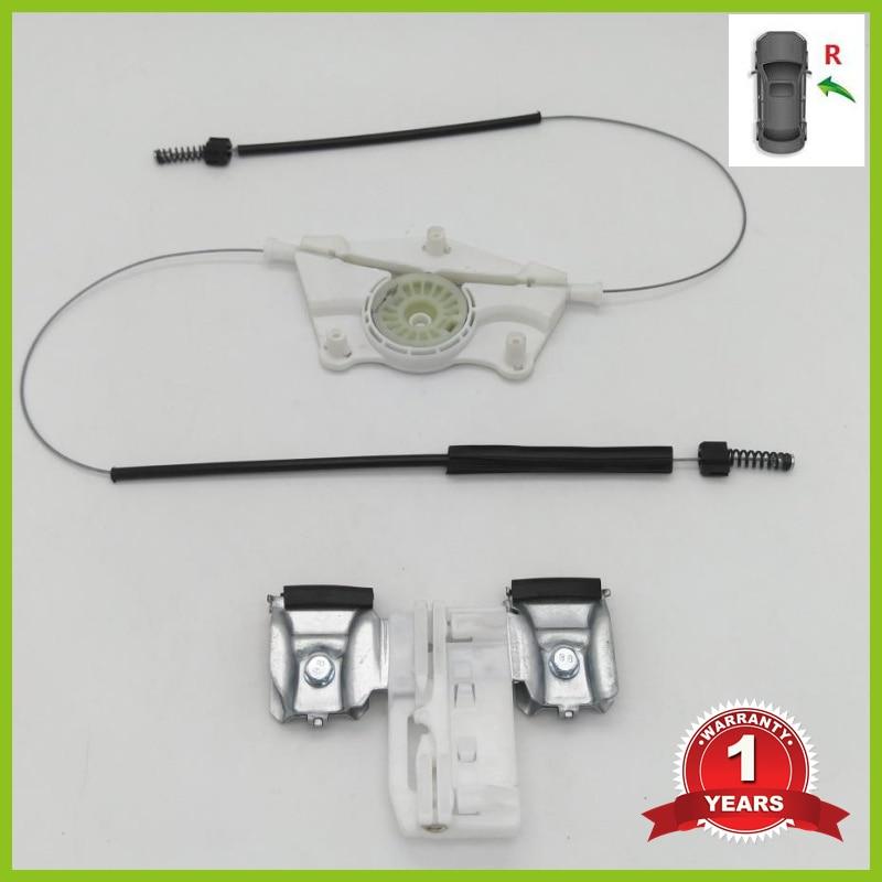 For Skoda Fabia MK2 2007 2008 2009 2010 2011 2012 2013 2014 2015 Car-Styling Front Left Electric Window Regulator Repair Kit
