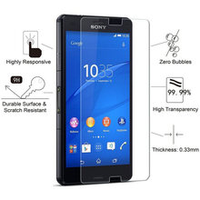 HD Screen Protector Tempered Glass for Sony Xperia Z1 Z2 Z3 Z4 Z5 Compact M2 M4 M5 Aqua C3 C4 Toughed Protective Glass(China)