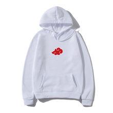 2021 men's Hoodie, Akatsuki Japanese cartoon shirt, symbolizing cloud, autumn and winter, urban fashion