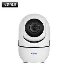 KERUI 1080P 2MP tam HD IP kamera Mini kablosuz WiFi küçük kapalı taşınabilir ev güvenlik CCTV güvenlik kamerası gece görüş