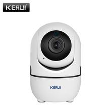 KERUI 1080P 2MP كامل كاميرا شبكية عالية الوضوح واي فاي لاسلكي صغير داخلي محمول أمن الوطن كاميرا مراقبة بالدوائر التليفزيونية المغلقة للرؤية الليلية