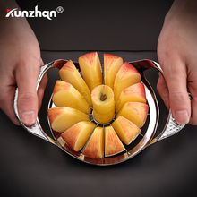 Stainless Steel Apple Cutter Flower Type Apple Knife Fruit Cutter Vegetable Fruit Easy Cut Slicer Cutter Kitchen Tools