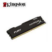 Kingston hyperx fury ddr4 8 gb 16 2666 mhz 2400 mhz 3200 mhz desktop memória ram dimm 288 pinos desktop memória interna multi-canal