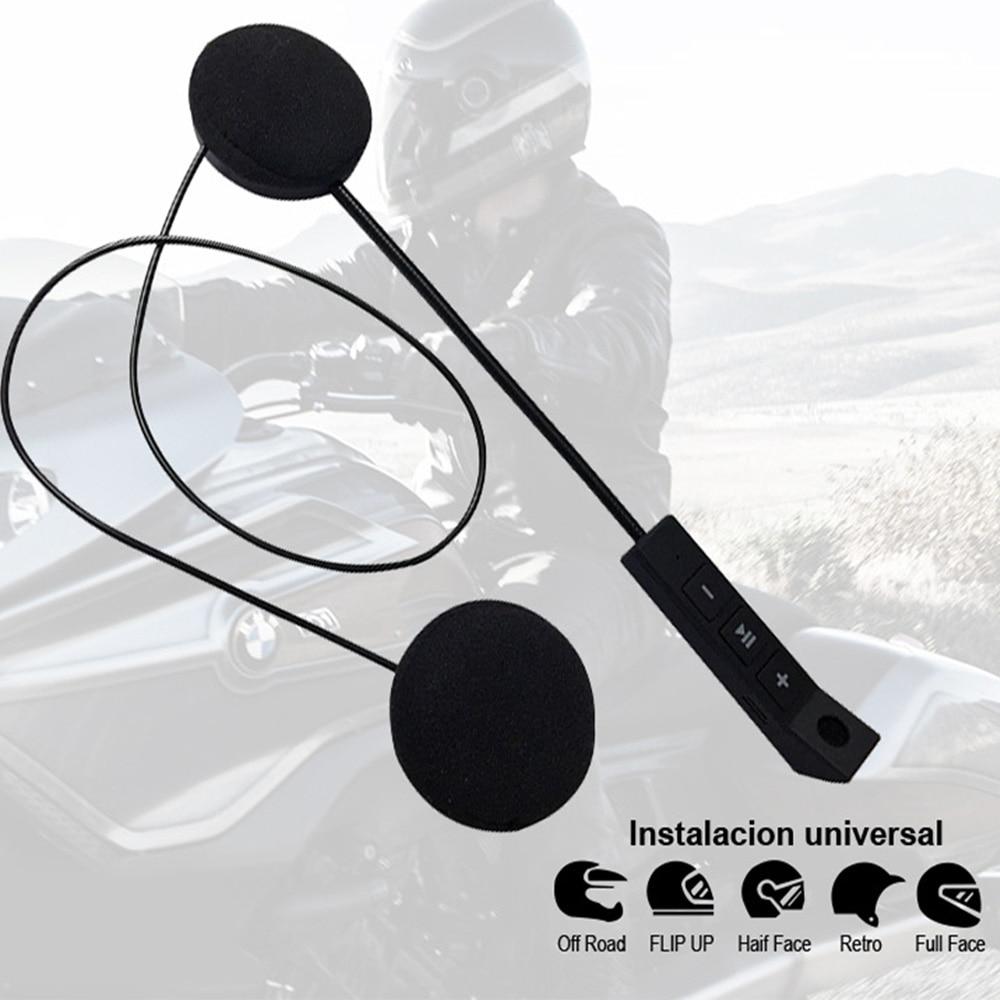 Motorcycle Helmet Earphone Wireless Bluetooth Moto Headset Headphone Speaker Handsfree Music For MP3 MP4 Smartphone|Helmet Headsets| |  - title=