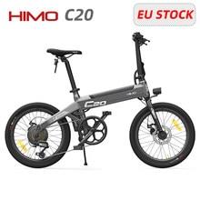 Vélo électrique HIMO C20 de 20 pouces pour adultes, moteur de 250W, 25 km/h, 80KM d'autonomie, STOCK ue