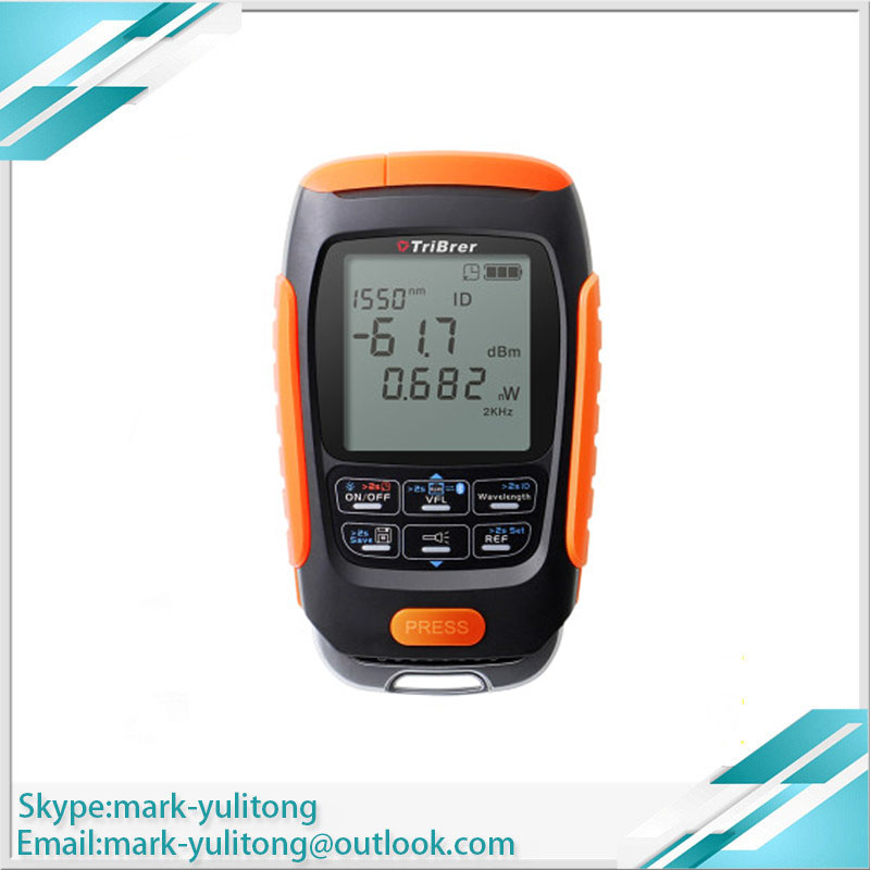 Free Shipping 4 In 1 Lithium Battery Optical Power Meter Visual Fault Locator Network Cable Test Fiber Tester 5km 15km 30km VFL