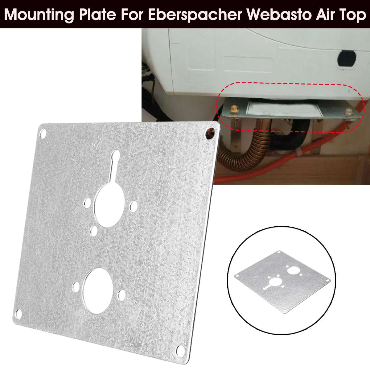 Webasto AT 2000 air heater floor mounting plate