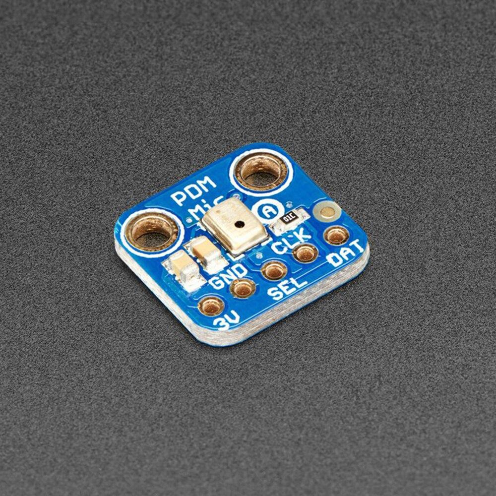 MP34DT01 PDM MEMS Microphone Breakout