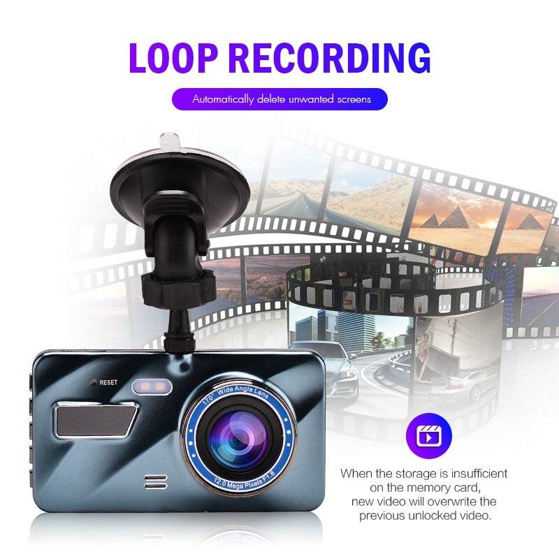 "J16 Car DVR Dash Camera Rear View Dual Camera Video 1080P Full HD 3.6"" Cycle Recording Night Vision G-sensor Wide Angle Dashcam 3"