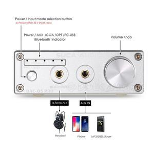 Image 2 - Nobsound Mini Bluetooth 5.0 USB DAC Audio Decoder Stereo HiFi Headphone Amplifier Optical AUX Black/Silver