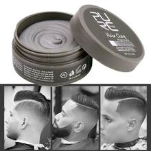 80g PURC Hair Styling Clay Mud Unisex Strong Hold Hairstyles Low Shine Finish Molding Cream Long Lasting Stereotype Hair Wax(China)