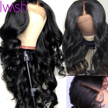 13x4 Brazilian Body Wave Wig Lace Front Pre Plucked For Black Women Natural Remy Glueless Human Hair Wigs