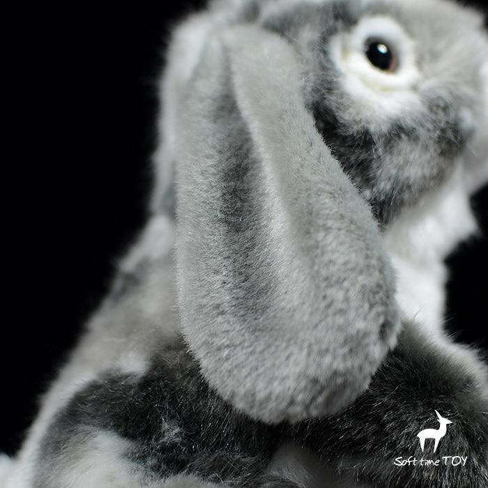 bonito macio realista coelho aniversário pelúcia nijntje