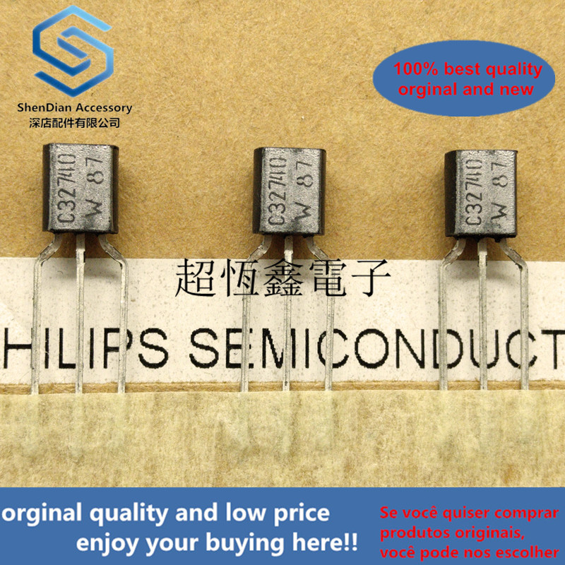 10pcs 100% Orginal New BC327-40 BC327 C32740 PNP General Purpose Transistor Real Photo