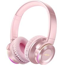B9 Bluetooth 5 0 Headphone Wireless Headphones with Mic 40H Play Time Deep Bass Earphones Foldable Headset for TV PC Cellphone cheap Tourya Dynamic CN(Origin) Wireless+Wired 103±3dBdB 1 5Mm 3 5mm Apt-X 32ΩΩ 7 Color Led light Headset Touch Control Wired and TF card Mode for cellphone and Travel