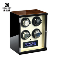 Luxury Wooden Watch Winder Box Motor Shaker Holder 4 slots storage Boxes Automatic Mechanical Watches Winding Machine