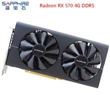 SAPPHIRE AMD Radeon Graphics Card RX570 4GB Gaming Computer