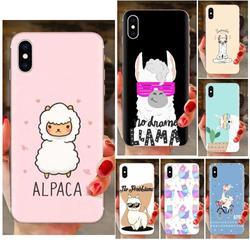 На Алиэкспресс купить чехол для смартфона soft tpu case capa cover cute animal alpaca for xiaomi redmi note 8 8a 8t 10 k30 5g for motorola moto g g2 g3 g4 g5 g6 g7 plus