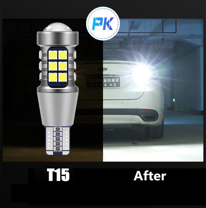1pcs Canbus T15 LED Bulb W16W Car Reverse Light For <font><b>Toyota</b></font> Corolla Celica Yaris Camry <font><b>4Runner</b></font> Avalon Prius Highlander RAV4 image