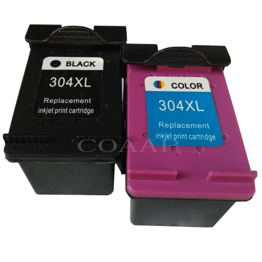Refilled Ink Cartridge 304XL new version for hp304 <font><b>hp</b></font> <font><b>304</b></font> <font><b>xl</b></font> deskjet envy 2620 2630 2632 5030 5020 5032 3720 3730 5010 printer image