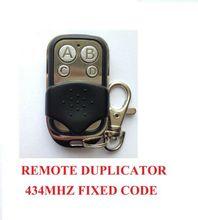 Universal Cloning Remote Control Key Fob Nice Flo,V2 Phoenix,TAU,RIB,DASPI compatible remote control CLONE 433.92mhz fixed code цены онлайн