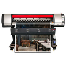1.8m eco solvent printer with one DX7 printhead digital printing color sticker printing machine(China)