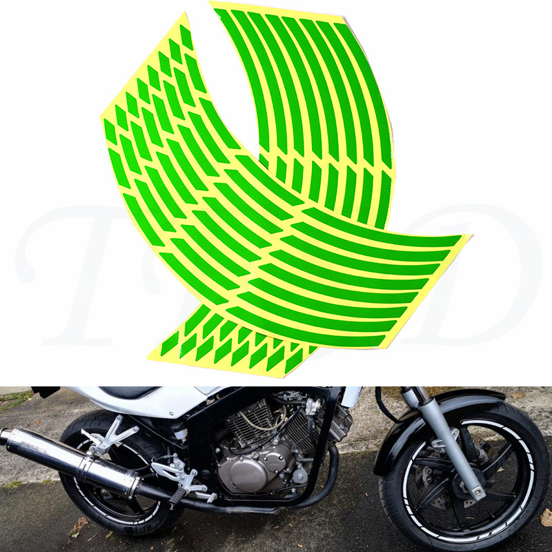 High quality fluorescent <font><b>stickers</b></font> car motorcycle <font><b>wheel</b></font> waterproof <font><b>stickers</b></font> bicycle decal 17